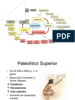 Prehistoria de españa - Paleolítico Superior