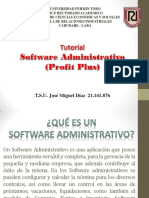 Software Administrativo Tutorial