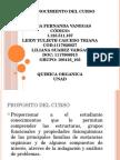 Reconocimiento Del Curso-quimica Organica