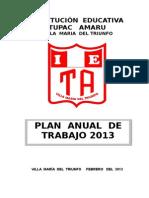 Plan Anual 2013