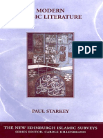 Paul Starkey Modern Arabic Literature New Edinburgh Islamic Surveys S. 2006