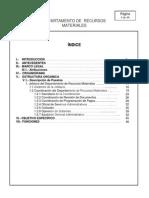 Manual de Procedimientos Rec.mat.