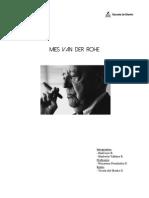 Informe Mies van der Rohe