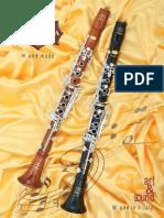Patricola Catalogo Clarinetti 2014
