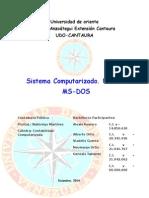 Sistema Ms Dos (Trabajo)