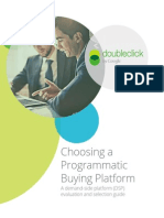 Choosing Programmatic Platform