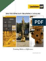 2014 Technician Training Catalog