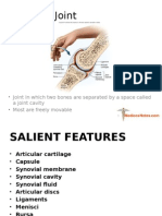 Synovial Joint MedicosNotes.com