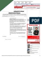 08-18-2015 La Transparencia Es Fundamental Al Entregar Administración de Reynosa