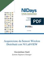 Integrare reti di sensori wireless (WSN) e sistemi cablati per la realizzazione di sistemi di monitoraggio remoto e controllo