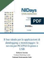 Il bus ideale per le applicazioni di datalogging e monitoraggio