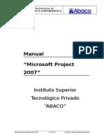 Abaco - Manual de Ms Project 2007