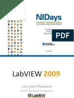 Le novità di LabVIEW 2009