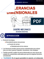 Mecanizado Tolerancias Dimensionales