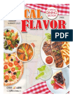 Local Flavor Dining Guide
