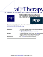 PT journal Musclel Activity