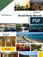 Brazil Study Abroad2016