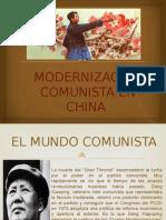 Modernizacion Comunista en China