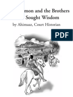 King Solomon and the Brothers Who Sought Wisdom