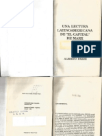 Alberto Parisi - Una lectura latinoamericana de El Capital de Marx