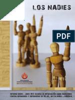 Los Nadie Informe Semestral Siaddhh2015