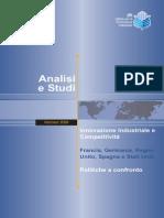 Innovazione industriale e competitività Francia Germania Regno Unito Spagna e Stati Uniti-IPI-(ITA)