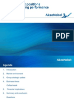 AkzoNobel Strategy Update 2013 Tcm9-78275