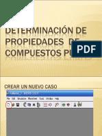 Determinacion de Propiedades de Compuestos PurosHysis