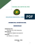 Informe de Ppp Mariela 2015