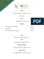 Fundamentos de administracion caso de estudio  y Propuesta de Solucion Caso