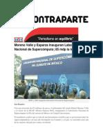 17-08-2015 Contraparte - Moreno Valle y Esparza Inauguran Laboratorio Nacional de Supercómputo; 85 Mdp La Inversión