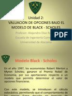 Valuación de Opciones ( Modelo Black Scholes)