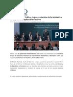 17-08-2015 Foro Político Digital.mx - Asiste Moreno Valle a La Presentación de La Iniciativa de Ley de Disciplina Financiera