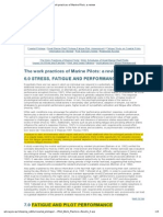 """Fadiga - """"Work Practices of Marine Pilots- A Review"""""""