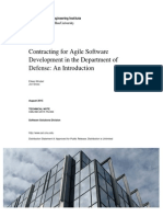Contracting for Agile Software Development in the Department of Defense