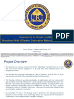 Woodland Hills Presentation from URI Group, August 2015