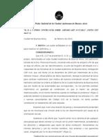 "Fallo Matrimonio Homosexual - ""B., D. A. Y OTROS CONTRA GCBA SOBRE AMPARO (ART. 14 CCABA)"" , EXPTE"