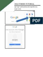 Google Forms - Tutorial