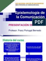 Presentación Del Curso 2015 - Epistecomunicación