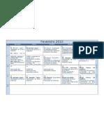 Calendário BE Fevereiro 2009-2010