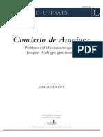 Analisis Aranjuez