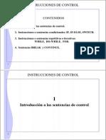 Sesion 04 - Instrucciones de Control - Resumen