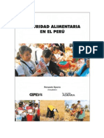 Seguridad Alimentaria en el Perú - Compilación de artículos