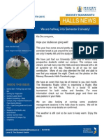 Halls News Issue Five 2015