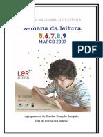 Semana Da Leitura 2007--Capa_panfleto