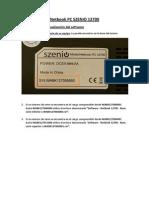 Netbook 12700 - IMPORTANTE - Leer Antes de Instalar El Software