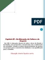 CF88 Art.educação