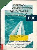 Diseño y Construccion de Canales - Francisco Coronado Del Aguila