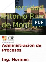 Adm Proc - Unidad 7 - Organización por procesos.pptx