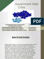 Greece Government Debt Crisis
